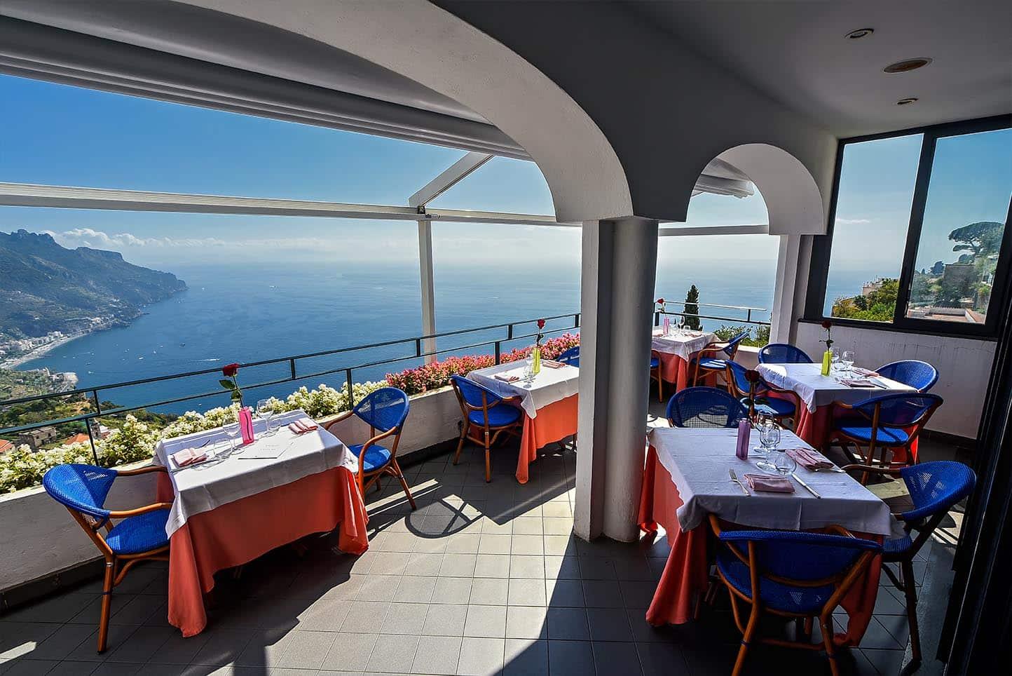 Al Ristoro del Moro restaurant panoramic view